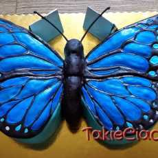 Przepis na Blue butterfly cake
