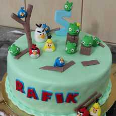 Przepis na Tort Angry Birds