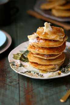 Przepis na Banana Milk Chocolate Weekend Pancakes