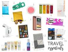 Przepis na Summer 2016: Travel Treats