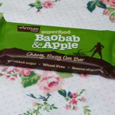 Przepis na Superfood Baobab&Apple Oat bar Artisan Grains