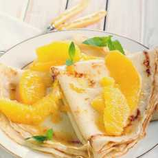 Przepis na Crepes suzette
