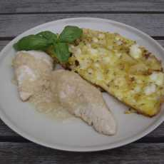 Przepis na Lemon chicken with a frittata