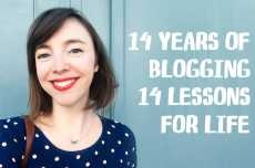 Przepis na 14 Years of C&Z: 14 Lessons for Blogging and Life