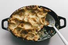 Przepis na Potato Topped Turkey Pot Pie Recipe