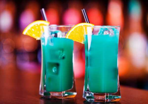 Deep Blue Sea Drink