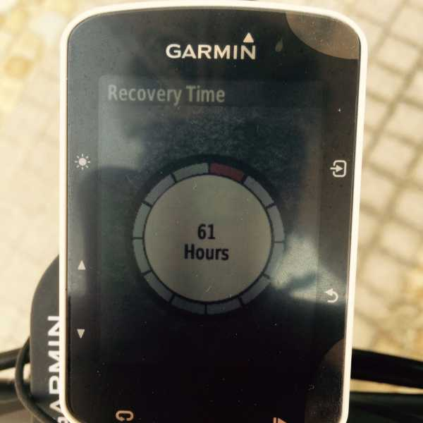 Made-in-Taiwan – trening z Garmin Edge 520