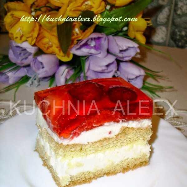 Wiosenne Ciasto Urodzinowe Wg Aleex Ciasta Przekladane Polecany